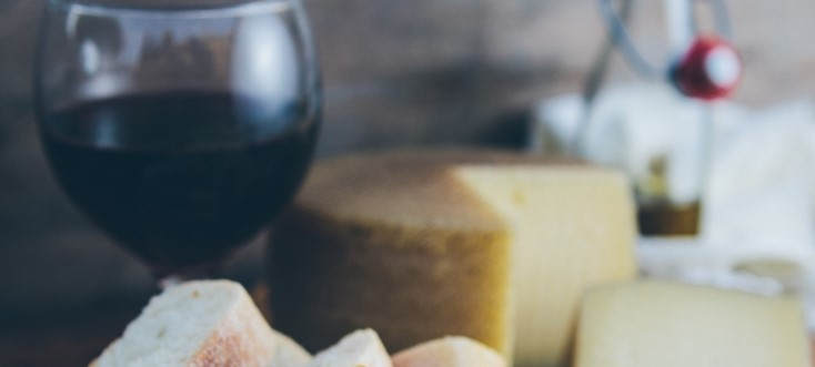 Cheese Wine Food Destination
